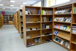 Priestory knižnice FMK